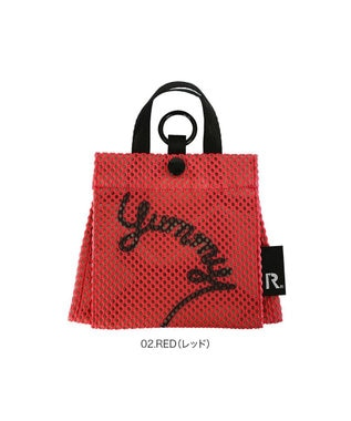ROOTOTE 6781【マスクケース】/ CJ.withROO.マスクト.yummy-B 02:レッド