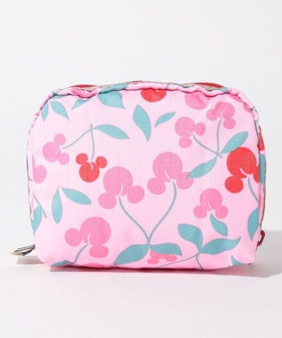LeSportsac SQUARE COSMETIC/ミッキー チェリー ミッキー チェリー
