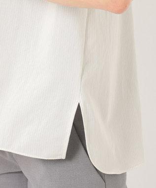 自由区 TRICOT JERSEY 5分丈 プルオーバーカットソー ライトグレー系1