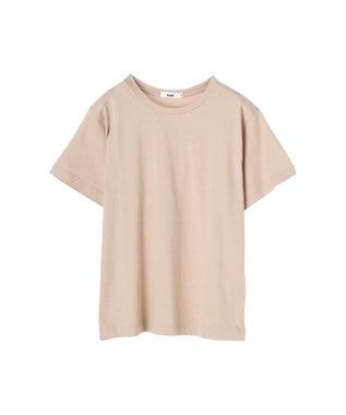 koe 抗菌防臭オーガニックコットンクルーネックTシャツ Light Beige