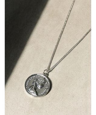 AMERICAN HOLIC コイントップネックレス Silver