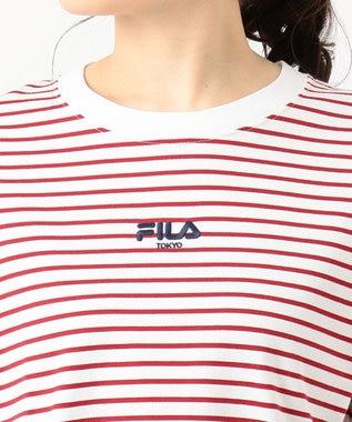 組曲 【FILA別注】ロゴ カットソー  レッド系1