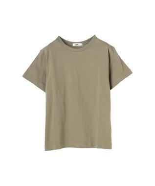 koe 抗菌防臭オーガニックコットンクルーネックTシャツ Light Khaki