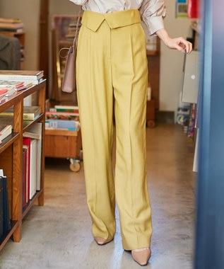 【マガジン掲載】 Crumple ワイド パンツ(番号CH24)