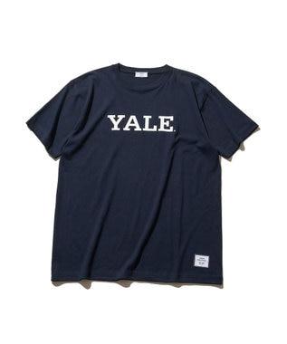 J.PRESS YORK STREET 【UNISEX】天竺YALE Tシャツ ネイビー系