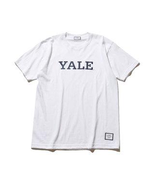 J.PRESS YORK STREET 【UNISEX】天竺YALE Tシャツ ホワイト系