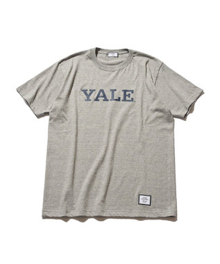 J.PRESS YORK STREET 【UNISEX】天竺YALE Tシャツ ライトグレー系