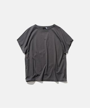ATON SUVIN 60/2   キャップスリーブTシャツ GRAY