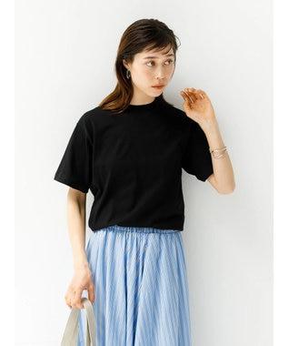 koe 抗菌防臭オーガニックコットンクルーネックTシャツ Black