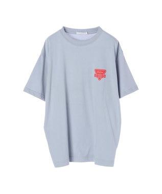 koe プリントTシャツ Light Blue