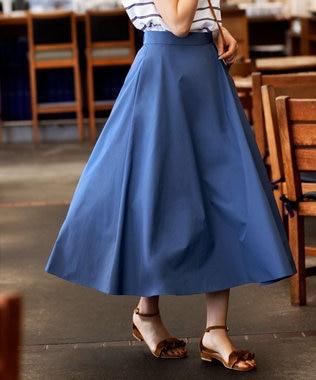 【洗える】タフタ フレアスカート