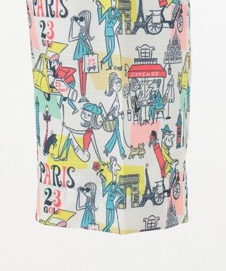 23区GOLF 【MEN】【ストレッチ】23周年 イラストレーターコラボ ショートパンツ ホワイト系5
