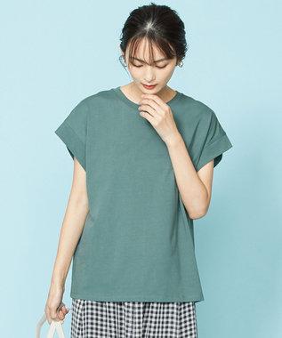 【オーガニックコットン】オーガビッツバックロゴ Tシャツ