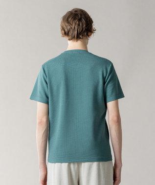 JOSEPH HOMME ライトタックジャージー クルーネックTシャツ ピーコックグリーン系