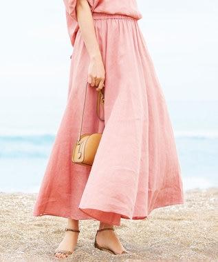 【一部店舗限定】LIBECO フレアスカート