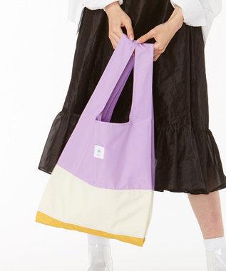 ANEVER 【BURNET】洗える エコトート バッグ 1月 ビオラ 信頼