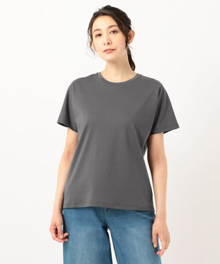 any FAM L 【定番人気】【UVケア】プレミアムベーシック Tシャツ グレー系