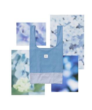 ANEVER 【BURNET】洗える エコトート バッグ 6月 アジサイ 感謝