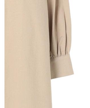 koe バンドカラーシャツ羽織 Beige