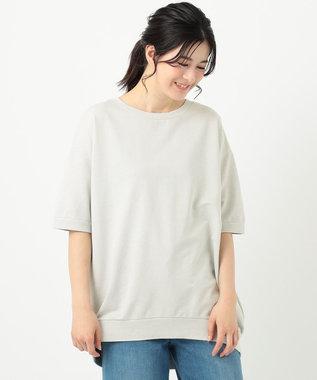 any FAM 【オーガニックコットン】オーガビッツミニ裏毛 Tシャツ ライトグレー系