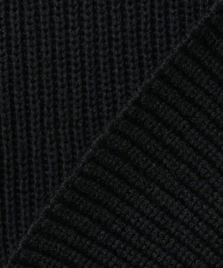 ICB 【洗える】 Oblong ニット ベスト ブラック系