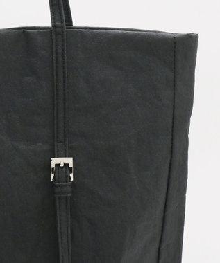 JOSEPH 【JOSEPH STUDIO】ペーパーレザー 縦型トート ブラック系