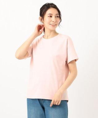 any FAM L 【定番人気】【UVケア】プレミアムベーシック Tシャツ ピンク系