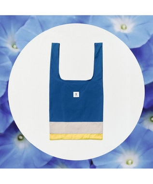 ANEVER 【BURNET】洗える エコトート バッグ 7月 アサガオ 固い絆