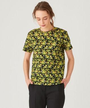 Paul Smith 【洗える】メイべルフローラル Tシャツ ブラック系5