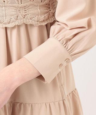 Feroux 【セットアイテム】ニットジレ ワンピース ベージュ系