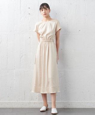 JOSEPH 【JOSEPH STUDIO・洗える】ワッシャーサテン ワンピース ピンク系