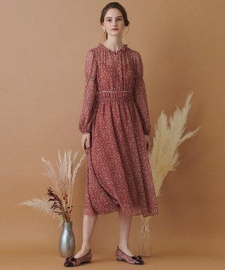 TOCCA 【TOCCA LAVENDER】Pastel Flower Crepe Dress ドレス
