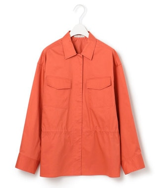 ICB 【マガジン掲載】Sundial ミリタリーシャツ(番号CH26) ライトオレンジ系