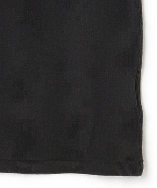 ICB L 【マガジン掲載】Rib ノースリーブ カットソー(番号CH42) ブラック系
