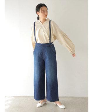 AMERICAN HOLIC 袖ギャザースキッパーシャツ Ivory