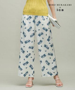 【MIHO MURAKAMIさんコラボ】コラボプリント パンツ