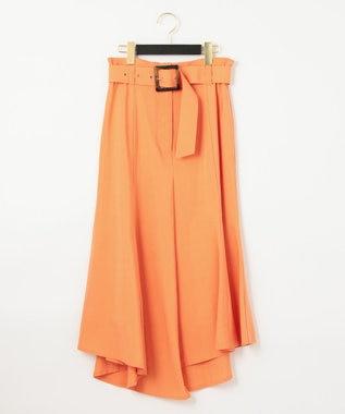 GRACE CONTINENTAL イレギュラーマーメイドスカート オレンジ