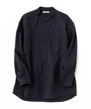 ONWARD Design Diversity 【IIQUAL】スタンドカラー シャツ ネイビー系