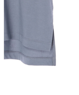 YECCA VECCA ・カットアウトショルダーTee Grayish Blue