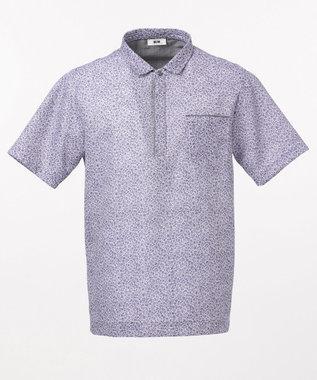 JOSEPH ABBOUD リネントップカノコ ポロシャツ ライラック系5