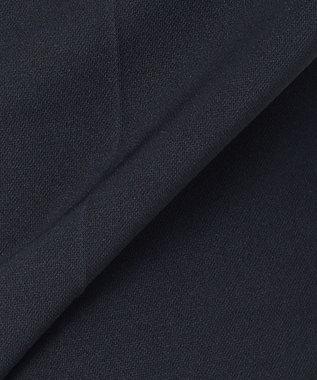 J.PRESS LADIES S 【洗える】トリアセテートポリエステル モクロディ パンツ ネイビー系