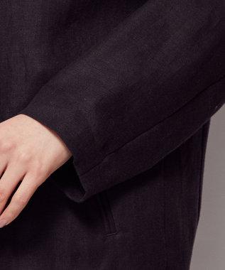 uncrave 【新色追加】ライトリネン ジャケット ブラック