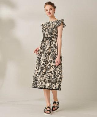 TOCCA 【洗える!】STATICE DRESS ドレス ベージュ系5