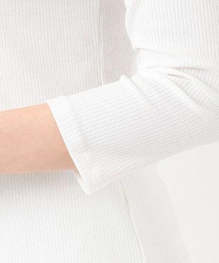 Feroux 【美人百花5月号掲載】ワンショルジャンスカセット ワンピース モノトーンストライプ