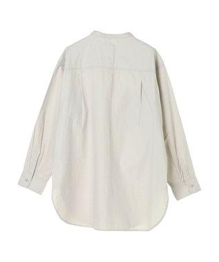 AMERICAN HOLIC スタンドカラー両ポケットシャツ Light Gray