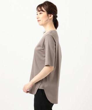 自由区 【Sサイズ有】FUNCTIONAL JERSEY Tシャツ カットソー ブラウン系