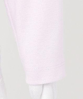 any FAM KIDS アニマル オーガビッツ 長袖Tシャツ ラベンダー(ねこ)