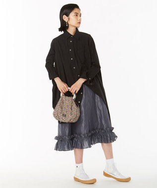 ANEVER 平手友梨奈さん着用【VERONICA】LIBERTY x ANEVER FLOWER HANDLE バッグ イエロー系5