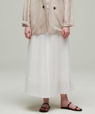 【マガジン掲載】Waterproof プリーツ スカート(番号CM23)