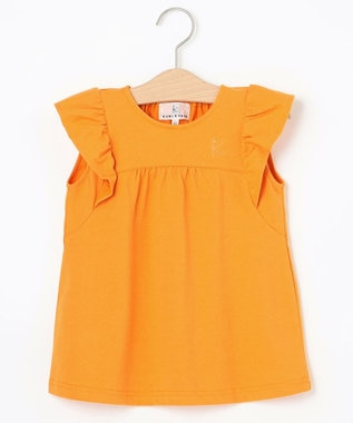 組曲 KIDS 【110-140cm】5DAYS カラーTシャツ オレンジ系